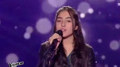 Моника на конкурсе Голос. Франция
