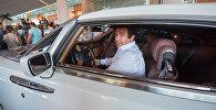 Гагик Царукян за рулем своего Роллс Ройса