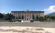 Резиденция Презиидента Республики Арцах. Город Степанакерт