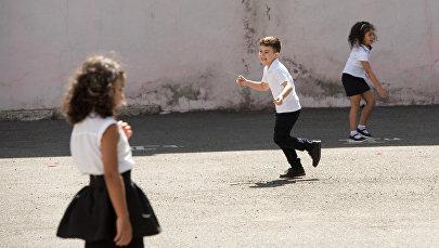 Первое сентября в Ереване