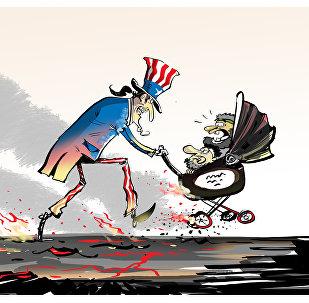 Американцы вывезли из района Дейр-эз-Зора главарей ИГ