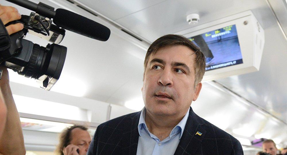 Саакашвили объявил, что хочет поменять власть вКиеве