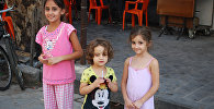 Дети, пережившие осаду Дейр-эз-Зора