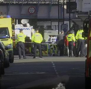 СПУТНИК_LIVE: Ситуация возле станции метроПарсонс-Грин в Лондоне, где произошел взрыв
