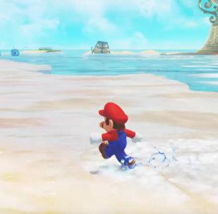 Компания Нинтендо выпустила новую серию игры Супер Марио