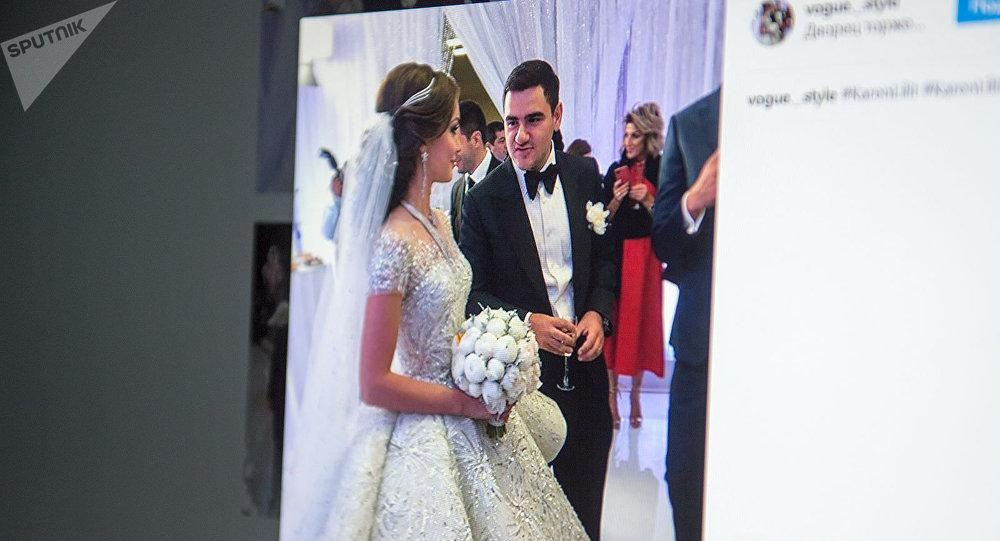 Свадьба сына Самвела Карапетяна
