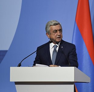 Серж Саргсян на форуме Армения-Диаспора