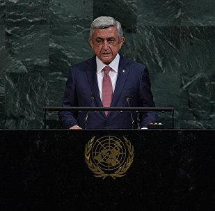 Выступление президента Армении Сержа Саргсяна на 72-ой сессии Генеральной Ассамблеи ООН