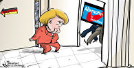 Карикатура. Выборы в Бундестаг