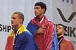 Армянские тяжелоатлеты Армен Григорян и Рафик Арутюнян
