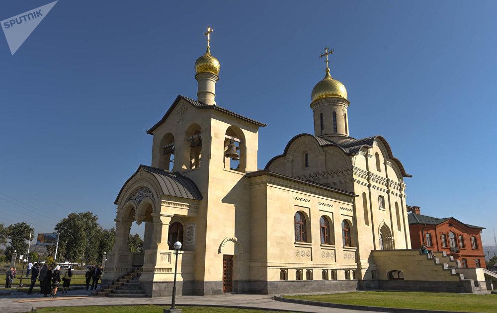 Храм Русской Православной Церкви во имя Воздвижения Животворящего Креста Господня в Ереване