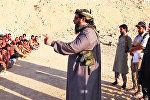 Лагерь обучения боевиков ИГИЛ. Архивное фото