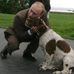 Президент России Владимир Путин и бывший президент США Джордж Буш-старший во время встречи в семейном поместье Бушей Уокерс Пойнт под Кеннебанкпортом в штате Мэн