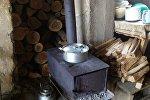 Печь в сельском доме в Тавушской области