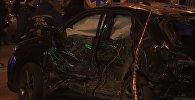 СПУТНИК_Кадры с места ДТП, унесшего жизни пятерых человек в Харькове