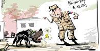 Карикатура. Госдеп впервые признал, что ан-Нусра* применяет химоружие в Сирии