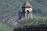 Армянская церковь сурб Григор Лусаворич на территории Азербайджана