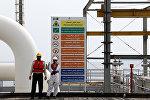 Нефтяная платформа в Иране
