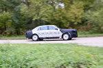 Авто для президента: опубликованы кадры испытаний седана Кортеж