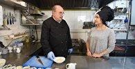 В гостях у шеф-повара: как приготовить Креветки с шафраном