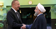Встреча глав государств Ирана и Азербайджана