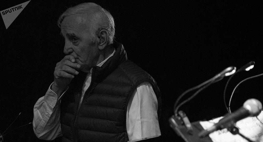 Шарль Азнавур. Концерт в Ереване