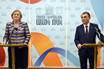 Встреча Спикера парламента РА Ара Баблояна и спикера сената Нидерланд Анке Броекерс-Кнол