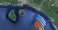 Водолазы из Еревана нашли на дне Карибского моря пушки армянского судна
