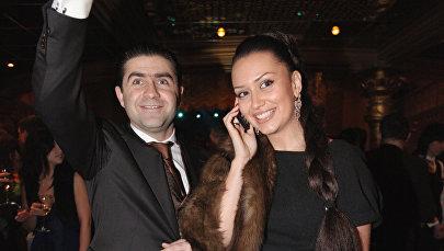 Генеральный продюсер Comedy Club Артур Джанибекян с супругой