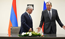 Встреча С.Лаврова и Э.Налбандяна