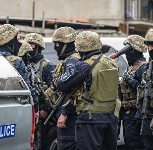 Спецоперация против группы террористов была проведена в жилом квартале на окраине столицы Грузии