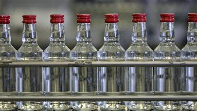 Работа ликеро-водочного завода