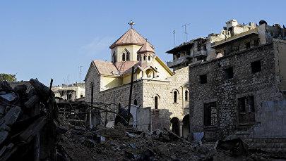 Армянская церковь в Алеппо