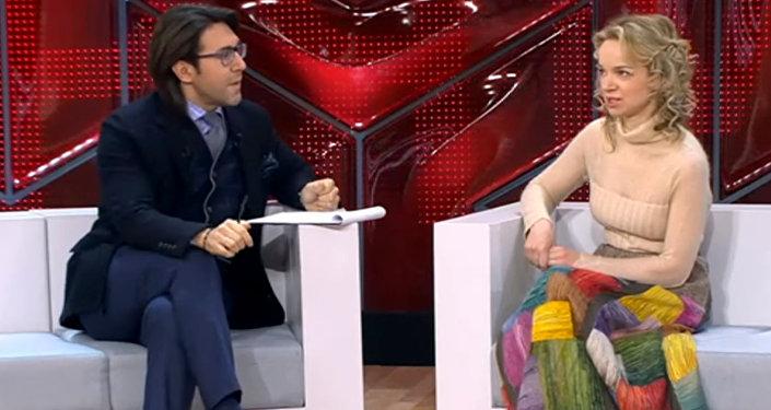 Виталина Цымбалюк-Романовская в программе Андрея Малахова