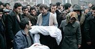 Жертвы землетрясения в Спитаке