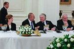 Главы МИД Армении Э.Налбандян и Турции М.Чавушоглу