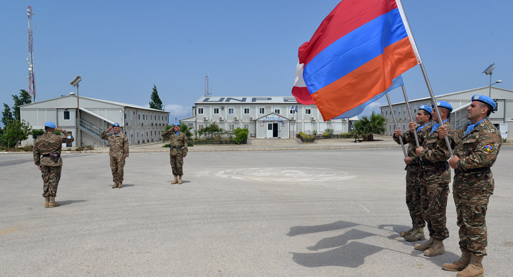 Армянский миротворческий контингент в Ливане
